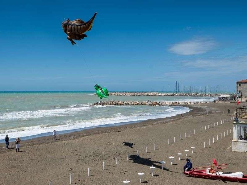 Beach of Cecina