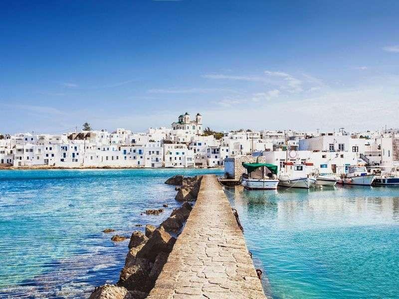 kikötők Syros környékén