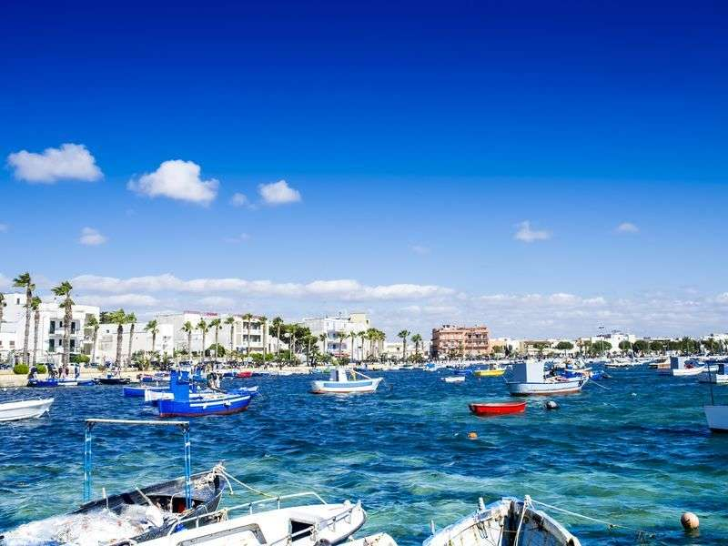 Hajózás Puglia-ban