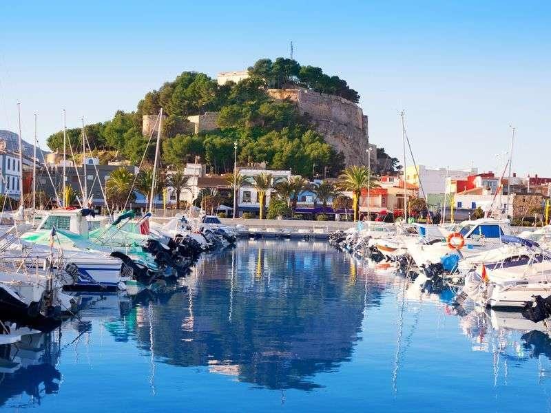 kikötők és szigetek Spanyolországban