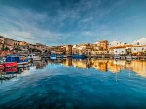 Boats in La Maddalena