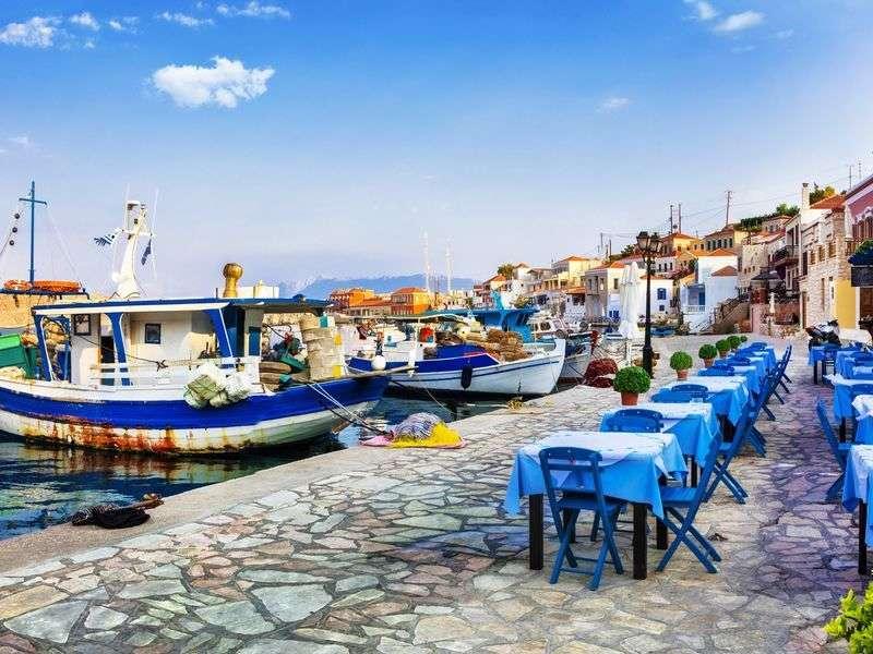 kikötők és szigetek Rodoszon