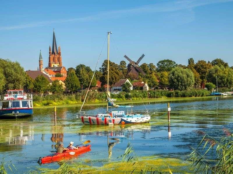 Csatornahajó bérlés Werderben