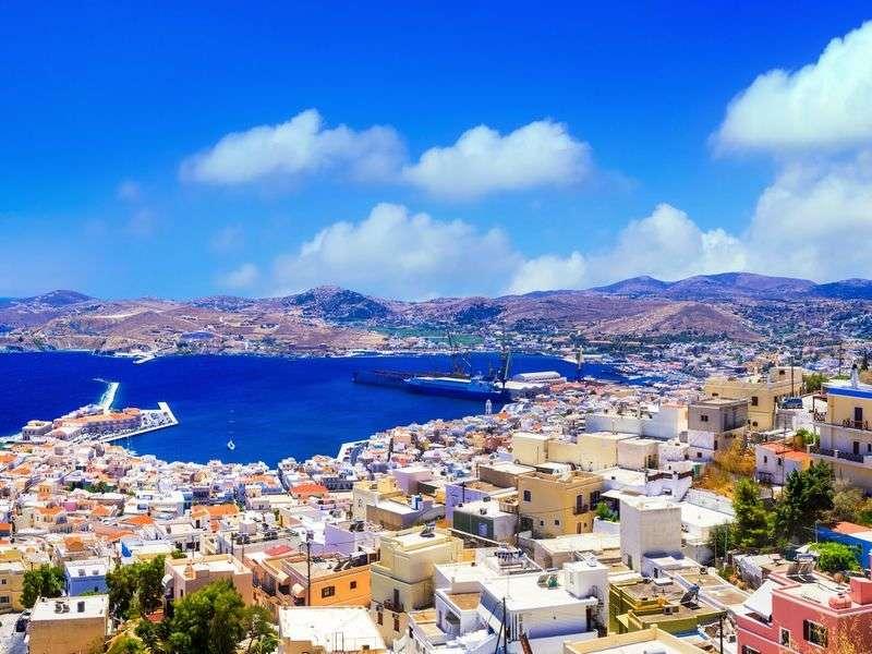 Vitorlázás Syrosban