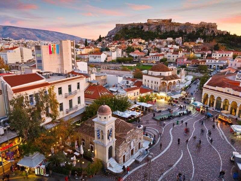 Athéni látnivalók