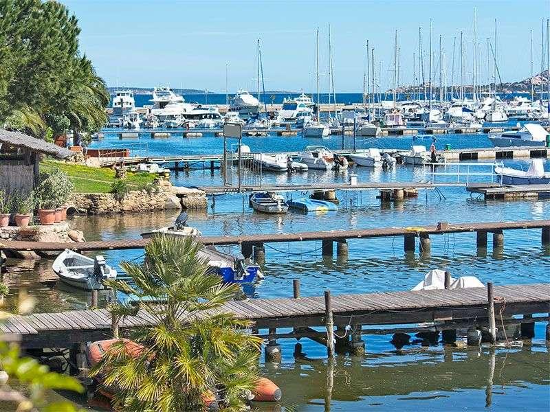 kikötők Costa Smeraldan
