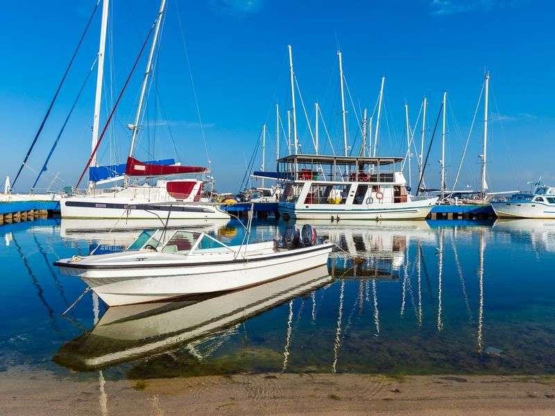 Marina in Cienfuegos