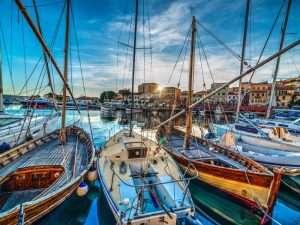 Marina in La Maddalena