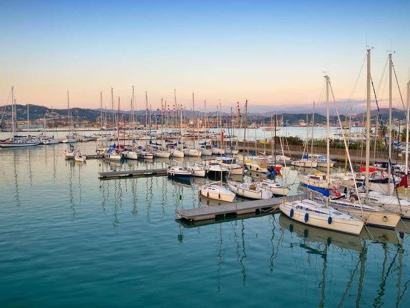 Kikötők az Olasz Riviérán