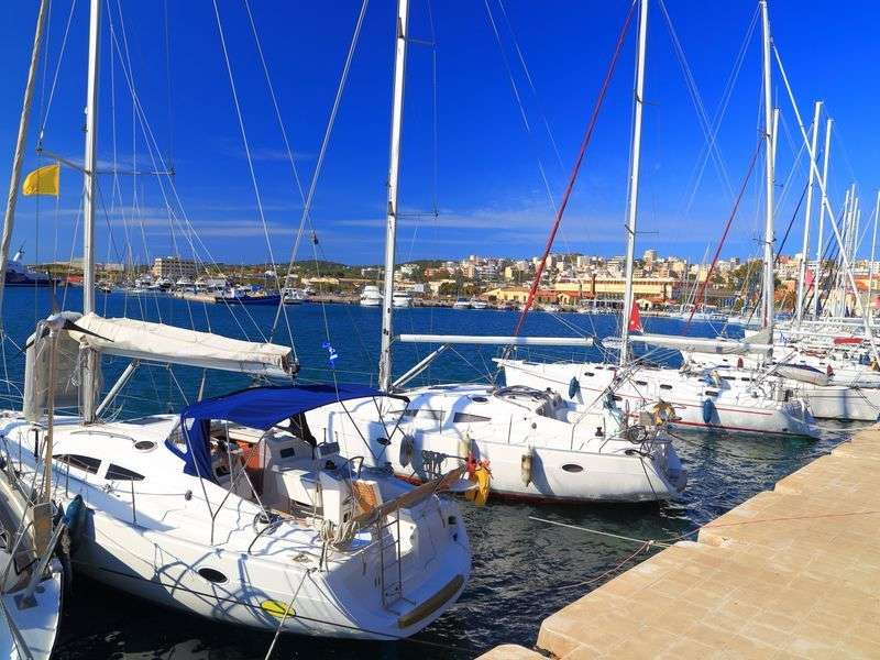 Marina in Lavrion