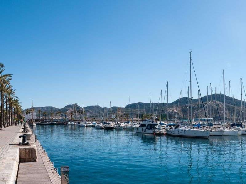 Marina in Murcia