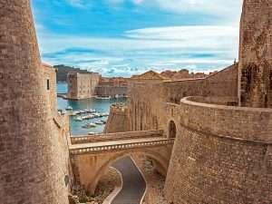 Port in Dubrovnik