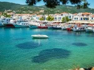 Port in Skiathos