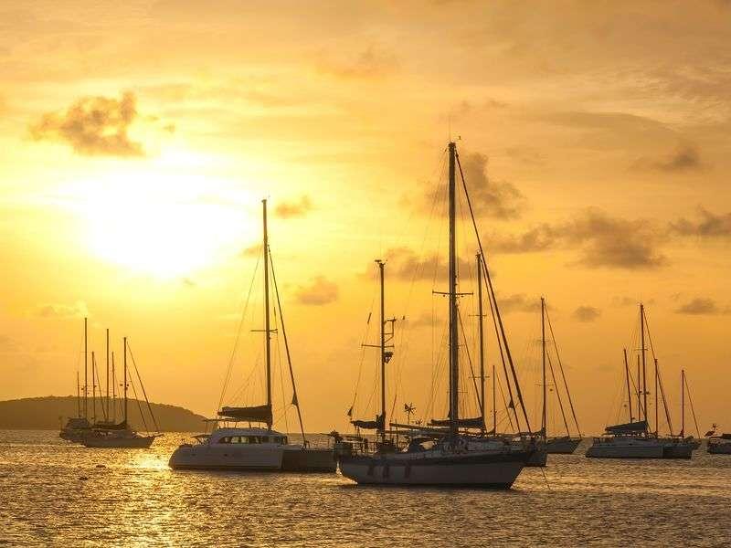 Sail in St Martin