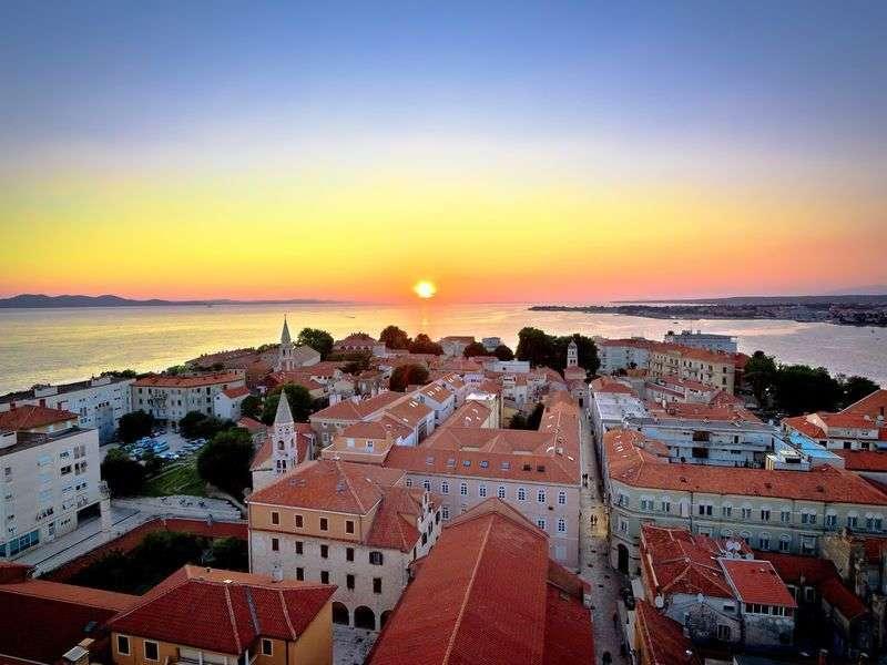 Vitorlázás Zadar környékén