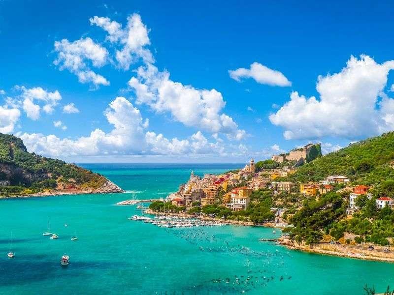 hajózás Liguriaban