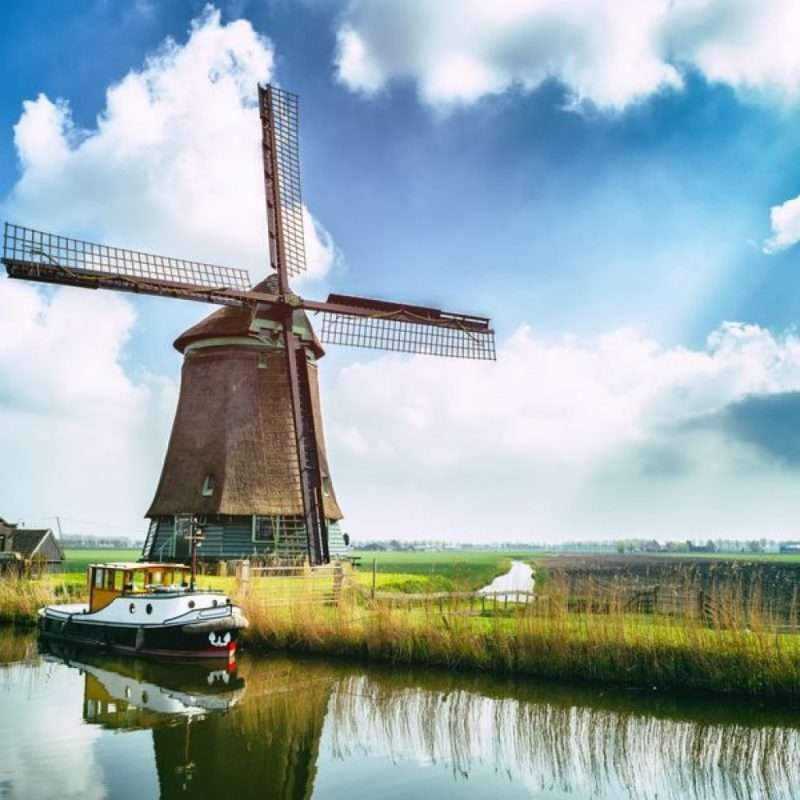 Hajóbérlés Hollandiában