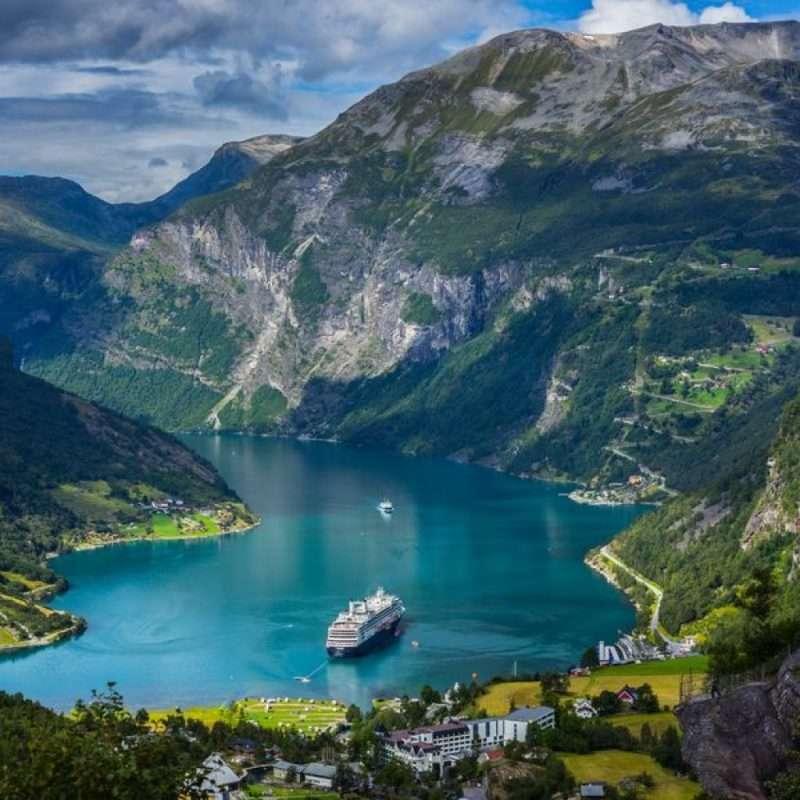 Hajóbérlés Norvégiában