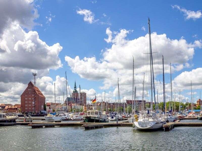 Hajóbérlés Stralsundban