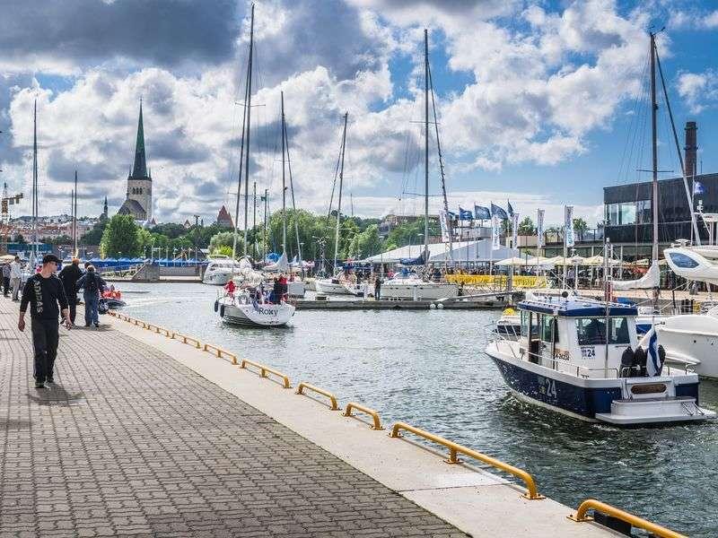 Hajóbérlés Tallinban