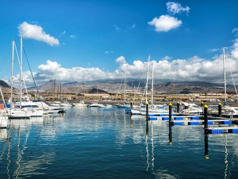 Marina in Las Galletas