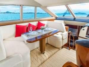 Cabin yacht charter