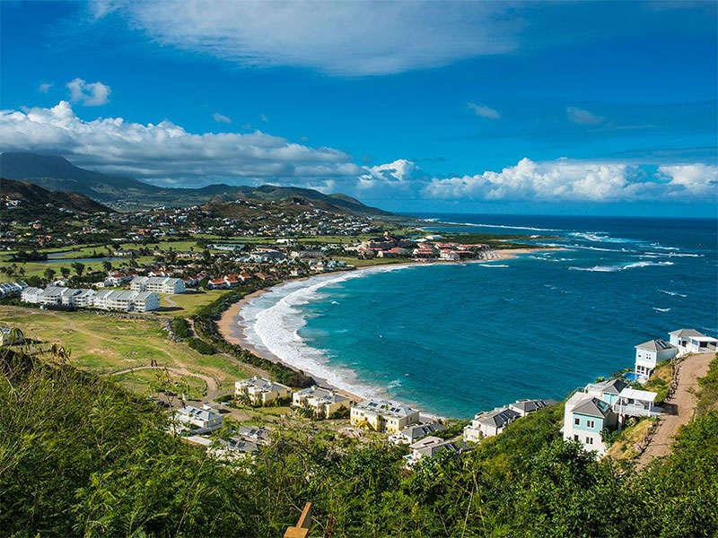 szigetek Antigua környékén: Saint Kitts and Navis