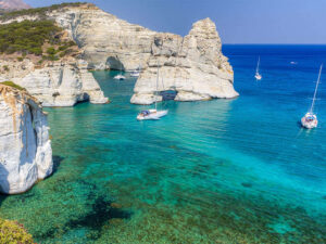 Vitorlázás Görögországban