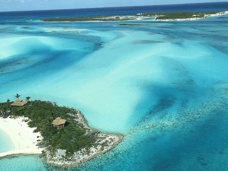 kikötők és szigetek a Bahamákon