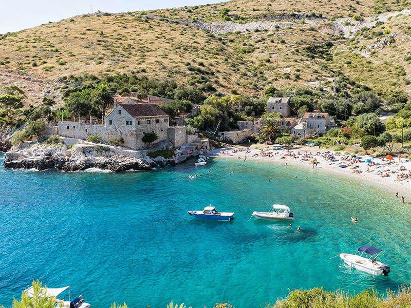 Vitorlás út Horvátországban