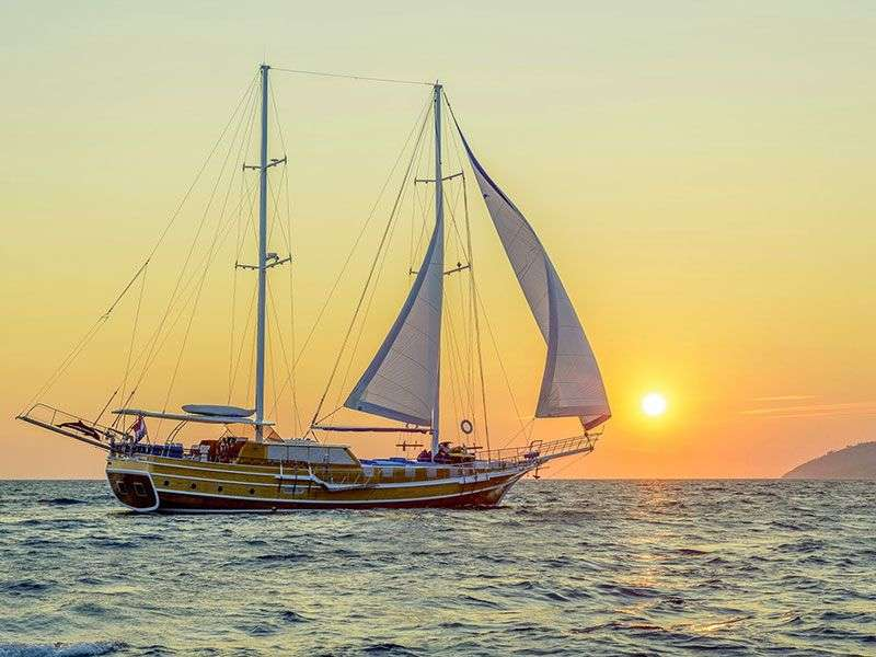 Gulet hajó