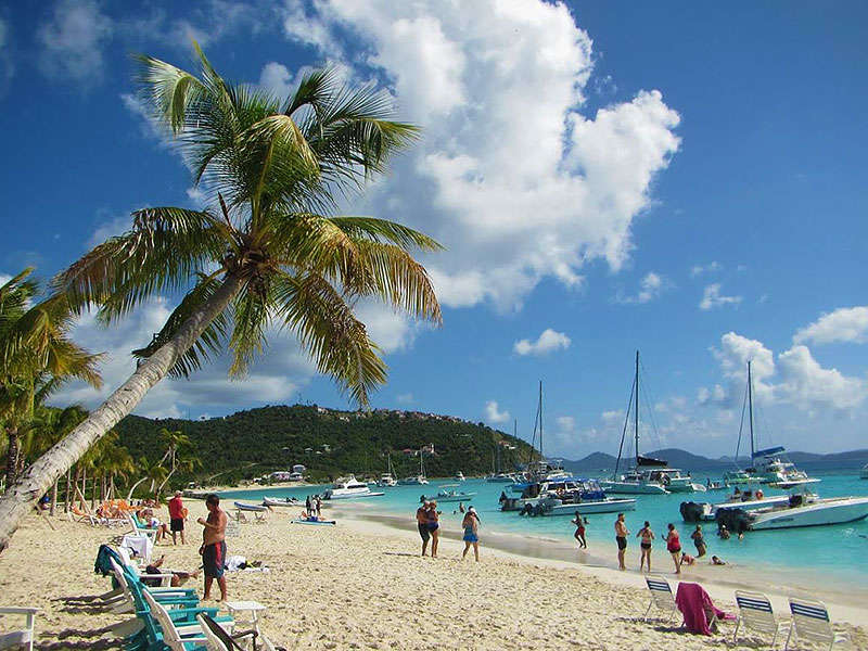 Brit-Virgin szigeteki hajózás