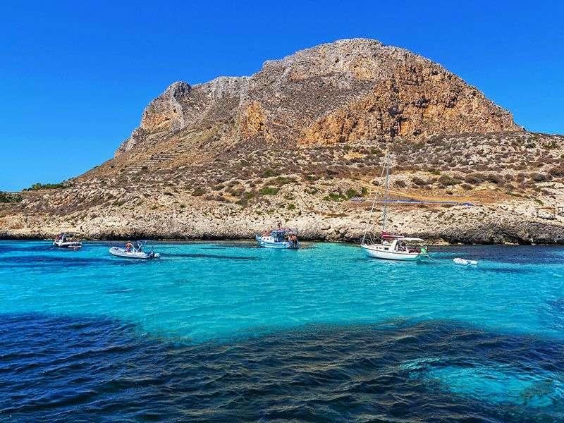 Szicília partjai és kikötői