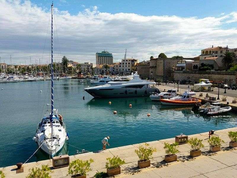 ports in sardinia