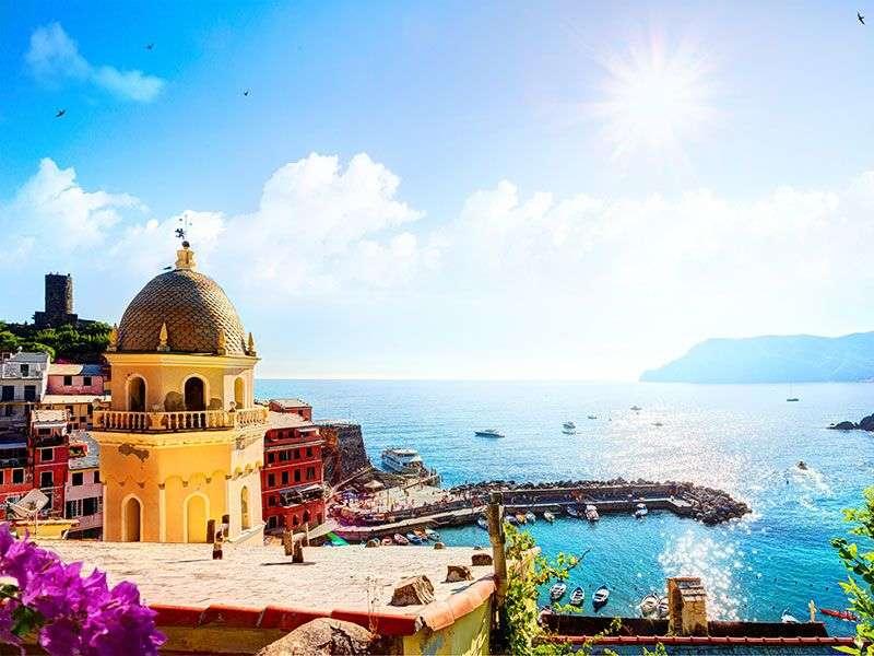 Yacht vakáció Liguriaban