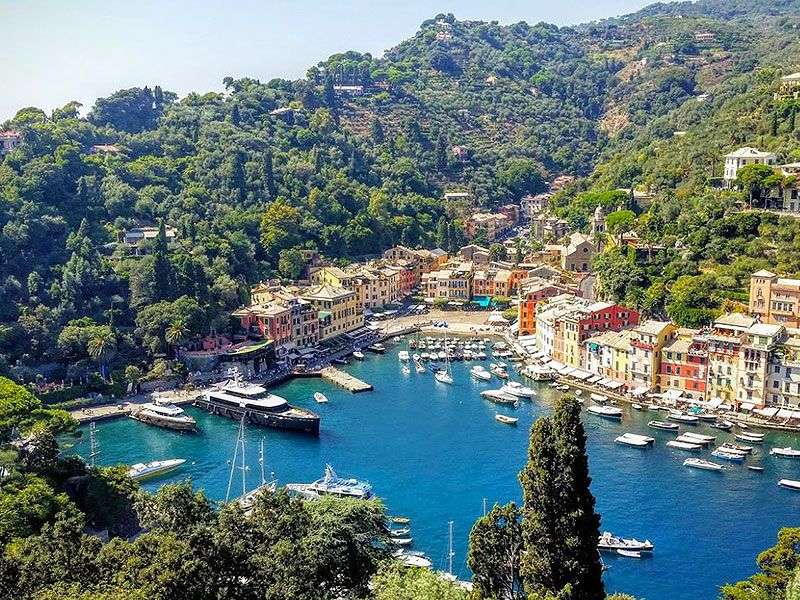 Portofino kikötője