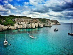 Vitorlázás Menorca