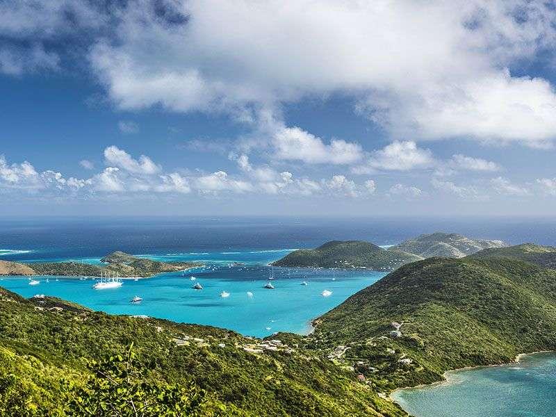 Vitorlázás a Brit-Virgin szigeteken