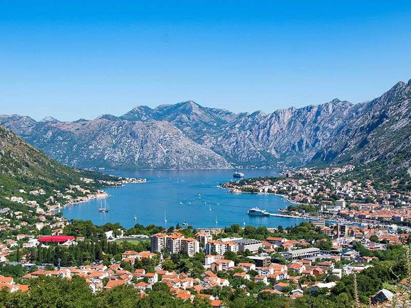 Yacht vakáció Montenegró
