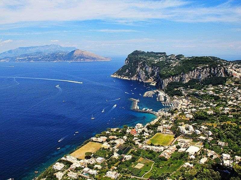 Vitorlázás az Amalfi-parton