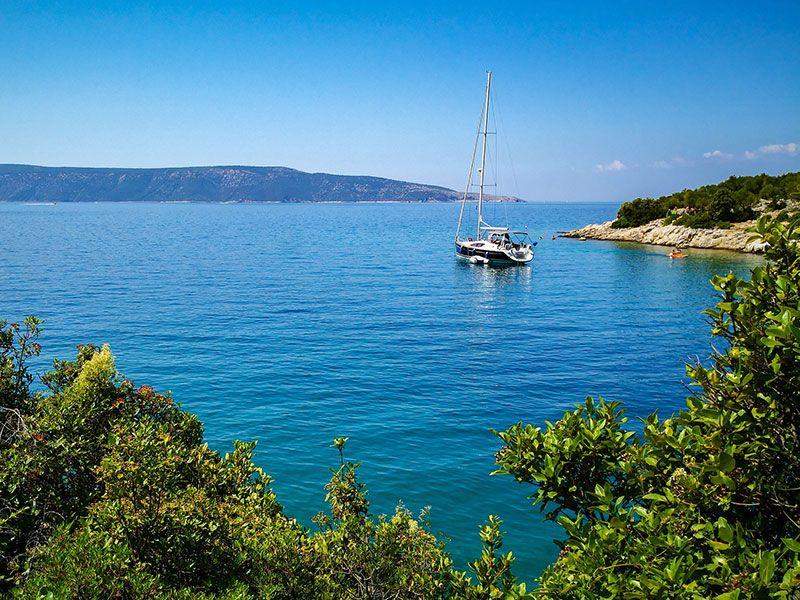 Hajóbérlés Cres-szigeten