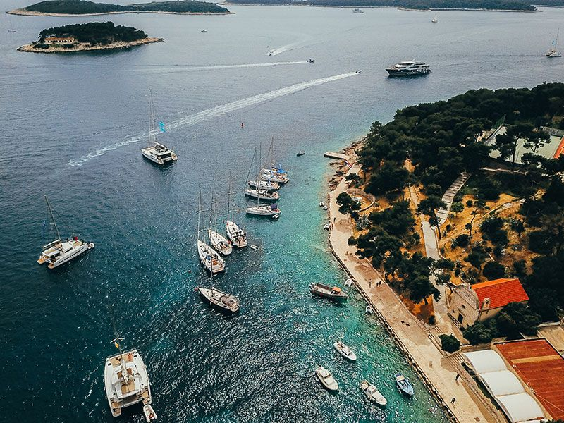 Yacht week in Hvar