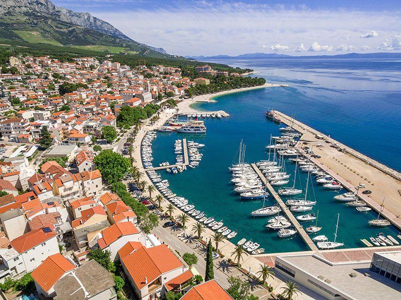 Kikötő Splitben