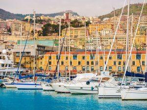 Sail in Italian Riviera
