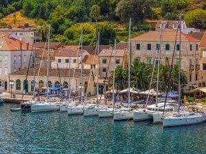 Yacht week in Komiza