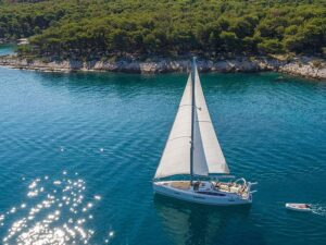 Hajóbérlés Brac-szigeten
