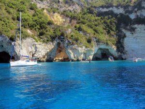 Hajóbérlés Korfun