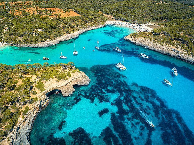 Split hajós útvonal