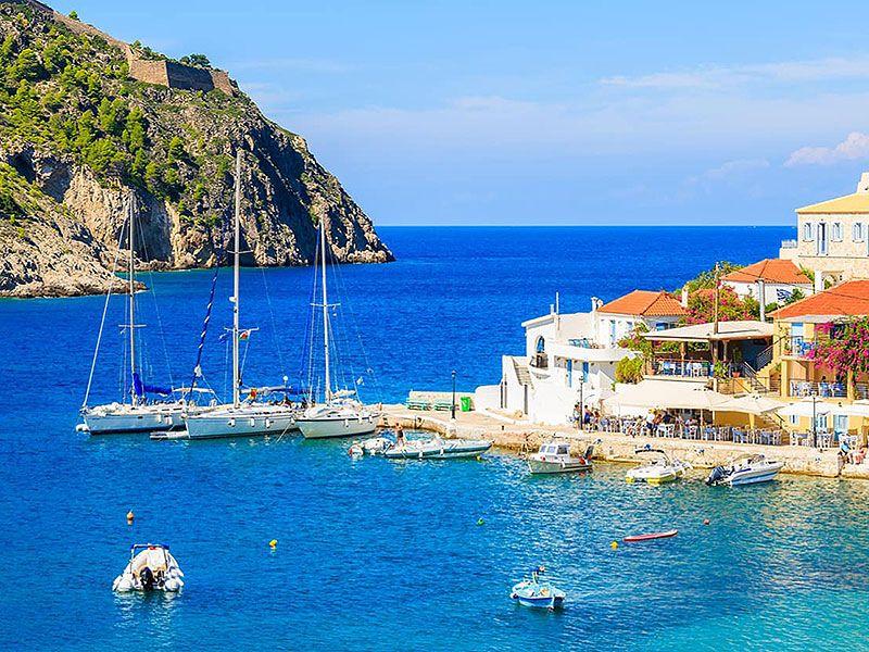 Hajóbérlés Argostoliban