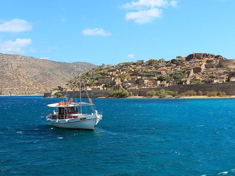 Hajóbérlés Krétán